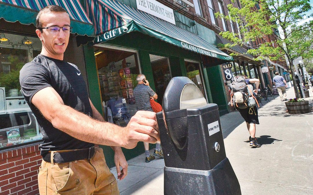 New parking meters would take plastic in Brattleboro, VT