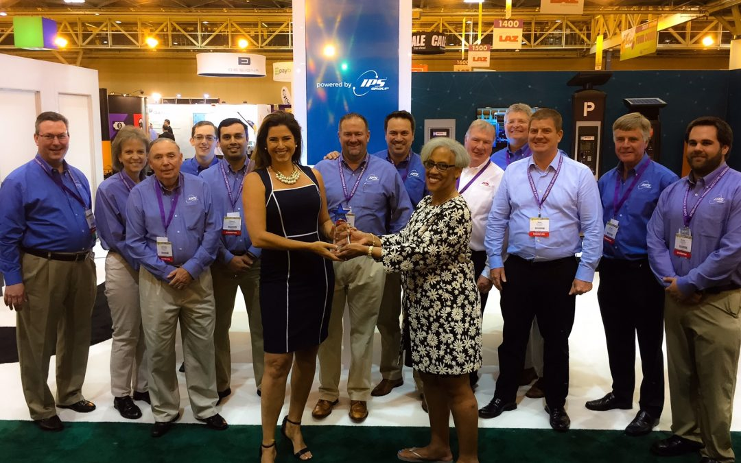 Best of Show – IPS Group, Inc. wins special recognition at the International Parking Institute Conference and Expo